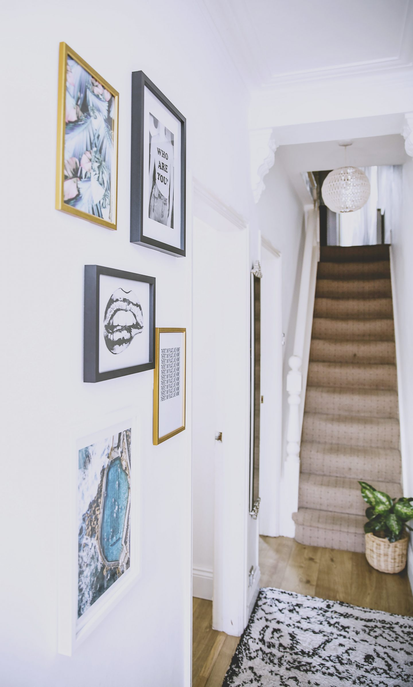 Interiors: A Budget Hallway Makeover (so that no-one notices the mess in the rest of the house)