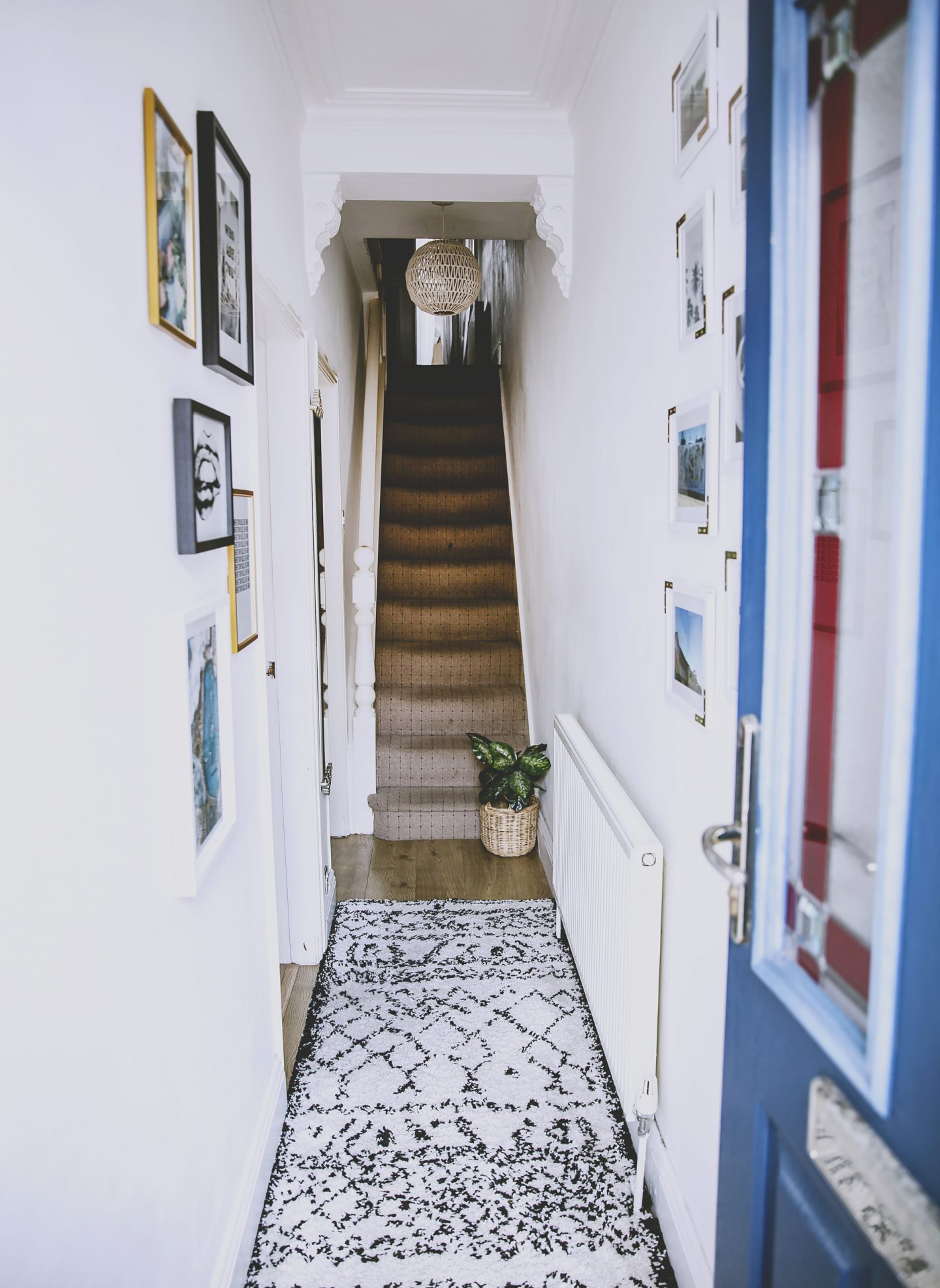small hallway makeover
