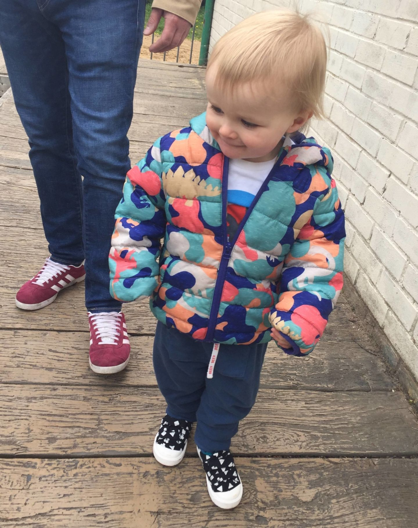 toddler walking